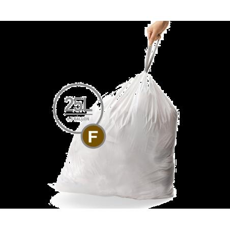simplehuman® 25 Litre çöp poşeti (f)