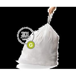simplehuman® 30 Litre çöp poşeti (g)