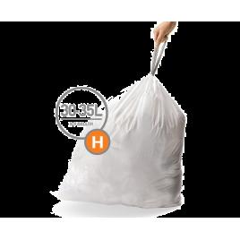 simplehuman® 30-35 Litre çöp poşeti (h)