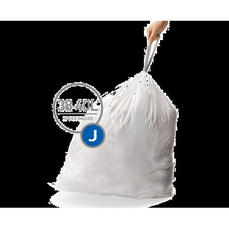 simplehuman® 38-40 Litre çöp poşeti (J)
