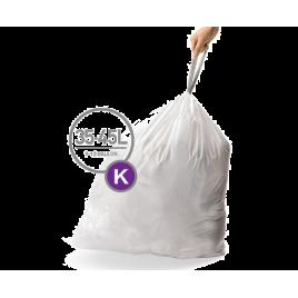 simplehuman® 34-45 Litre çöp poşeti (k)