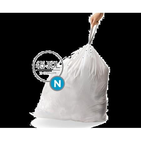 simplehuman® 45-50 Litre çöp poşeti (n)