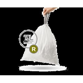 simplehuman® 10 Litre çöp poşeti (r)