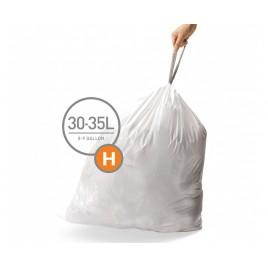 simplehuman® 30-35 Litre çöp poşeti (h) 3'lü paket