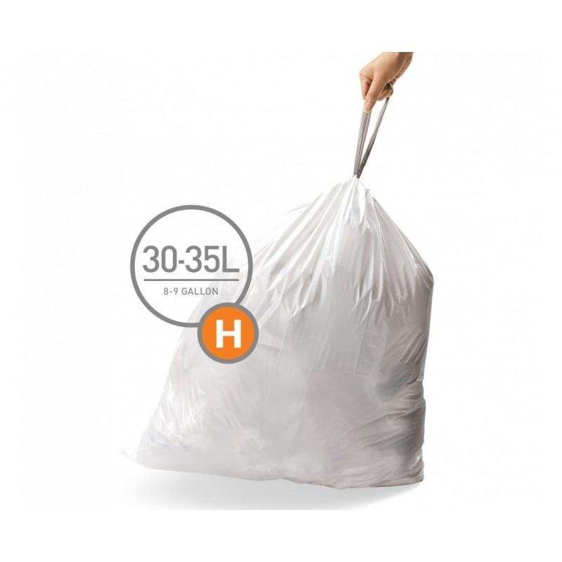 simplehuman® çöp poşeti (h) x 3'lü paket CW0258