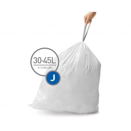 simplehuman® çöp poşeti (j) x 3'lü paket CW0259