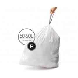 simplehuman® 50-60 Litre çöp poşeti (p) 3'lü paket