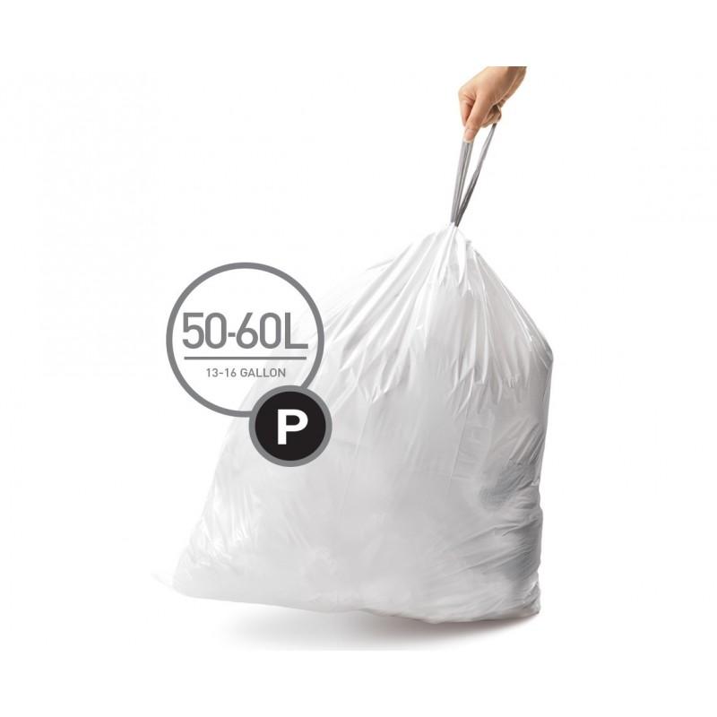 simplehuman® çöp poşeti (p) x 3'lü paket CW0263