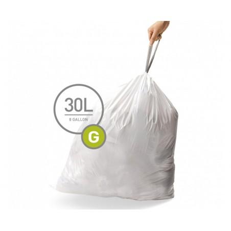 simplehuman® çöp poşeti (g) x 3'lü paket CW0257