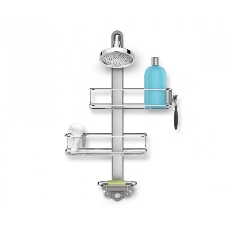 simplehuman® ayarlanabilir duş rafı BT1098