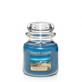 """Turquoise sky"" Yankee Candle Orta Boy Kavanoz Mum"