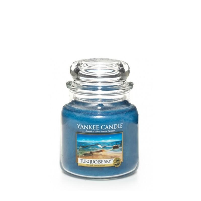"""Turquoise sky"" Yankee Candle Orta Boy Kavanoz Mum 1254030E"