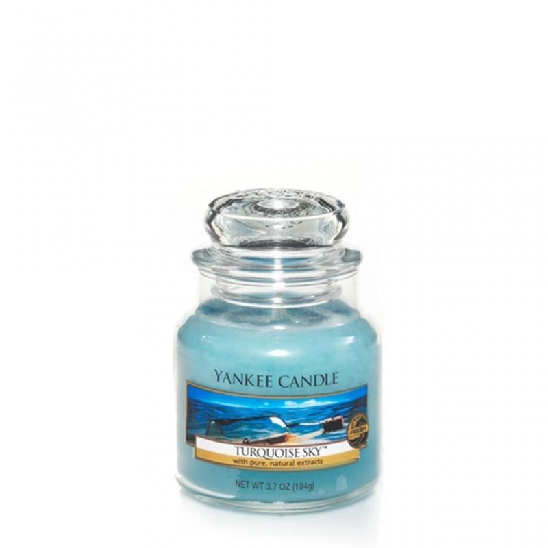 """turquoise sky"" Yankee Candle Küçük Boy Kavanoz Mum 1254031E"