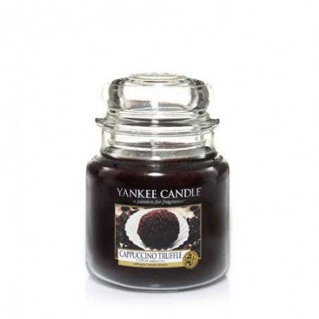 """cappuccino truffle"" Yankee Candle Orta Boy Kavanoz Mum"