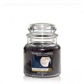 "Yankee Candle ""midsummer's night"" Orta Boy Kavanoz Mum"