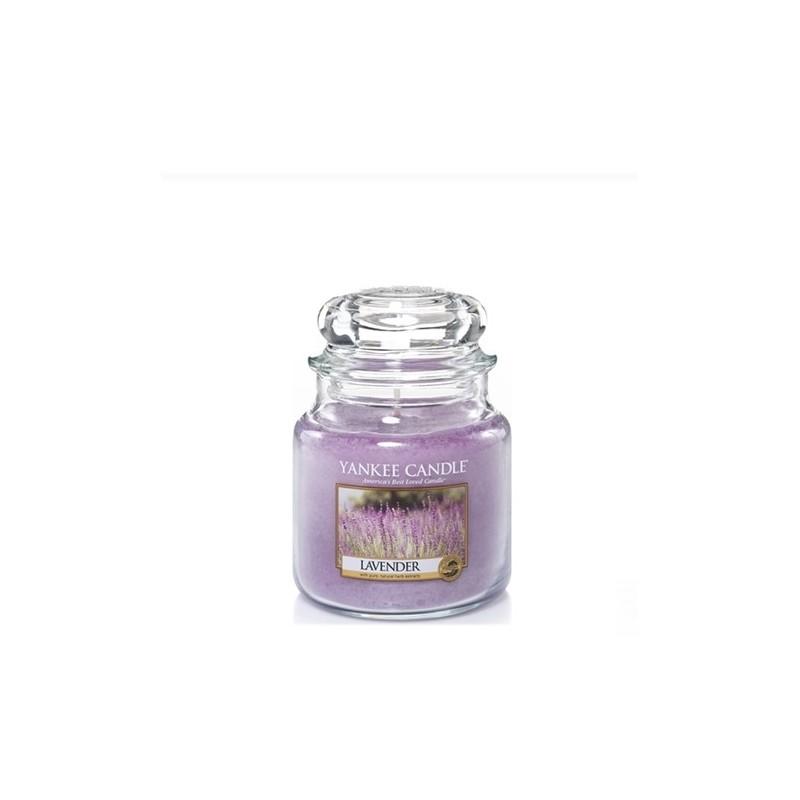 """lavender"" Yankee Candle Orta Boy Kavanoz Mum 1043442E"