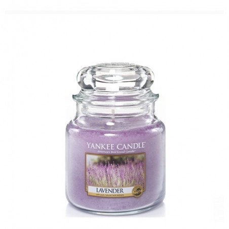 """lavender"" Yankee Candle Orta Boy Kavanoz Mum"