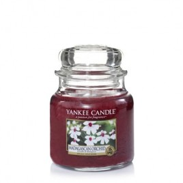 """madagascan orchid"" Yankee Candle Orta Boy Kavanoz Mum"