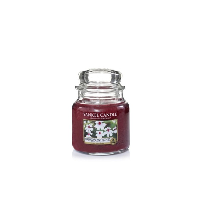 """madagascan orchid"" Yankee Candle Orta Boy Kavanoz Mum 1344785E"