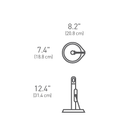 simplehuman ® kağıt havluluk 'tension arm' KT1162