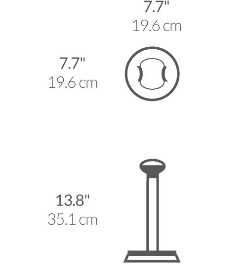 simplehuman® kağıt havluluk 'quick load' KT1021