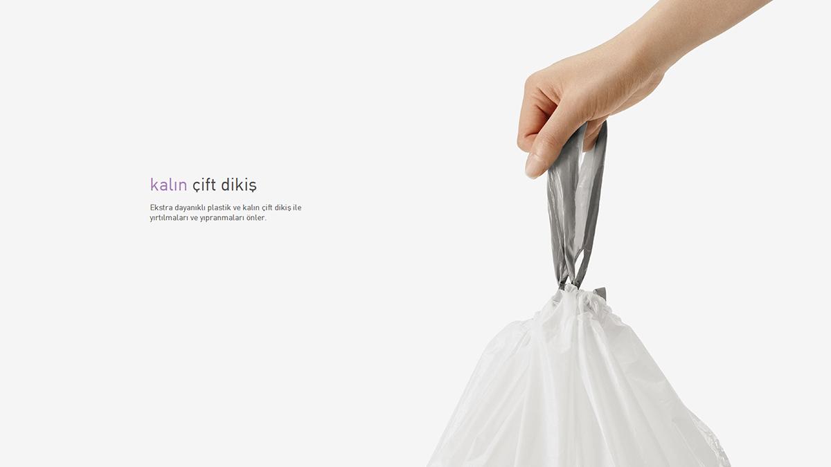simplehuman® çöp poşeti (a) CW0160