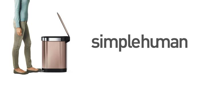 Simplehuman çöp kutuları